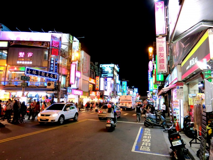 原田陽平の台湾旅行|台湾土林夜市9