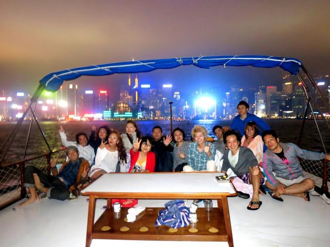 香港ボートパーティー22|原田陽平の香港生活