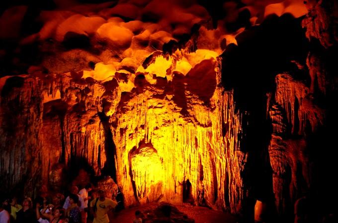 ハロン湾の洞窟3|原田陽平旅行記