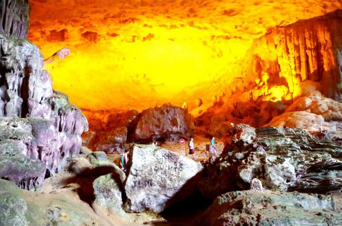 ハロン湾の洞窟5|原田陽平旅行記