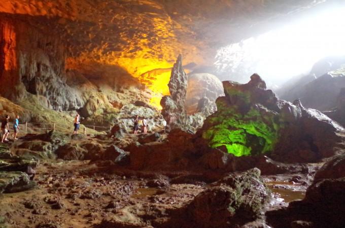 ハロン湾の洞窟6|原田陽平旅行記