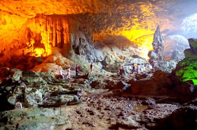 ハロン湾の洞窟7|原田陽平旅行記