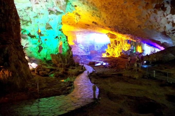 ハロン湾の洞窟10|原田陽平旅行記