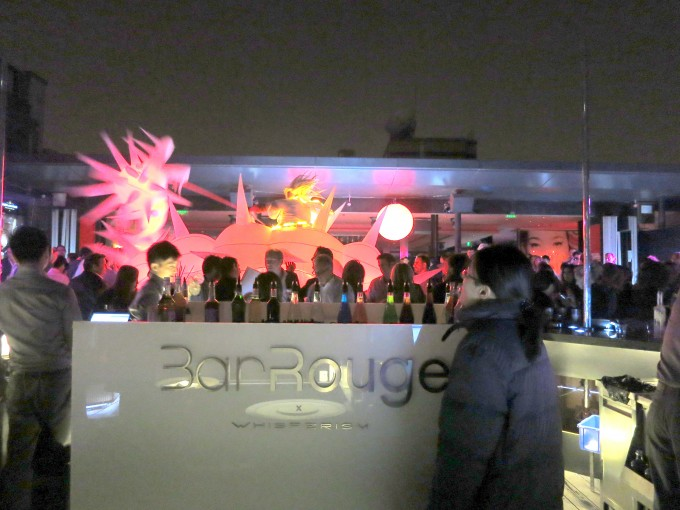 上海最先端クラブBarRouge10|原田陽平旅行記