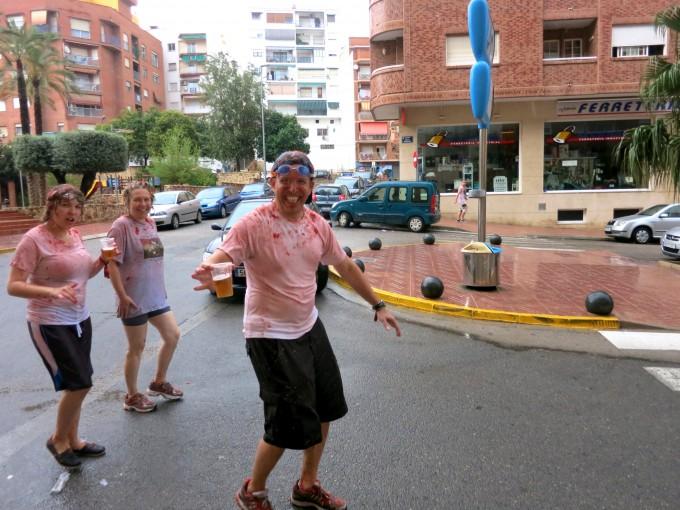 原田陽平のデュアルライフ|スペインのトマト祭り5