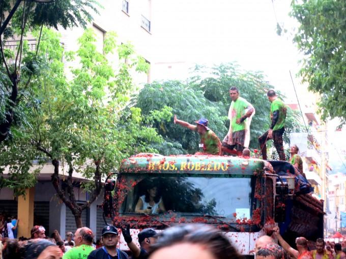 原田陽平のデュアルライフ|スペインのトマト祭り15